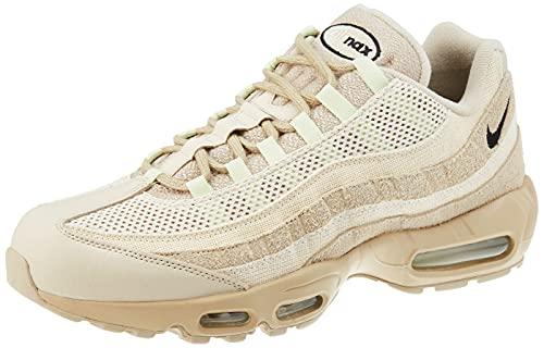 Nike Air MAX 95 PRM, Zapatillas para Correr Hombre, Grain Black Beach Coconut Milk Oil Green Olive Aura, 46 EU