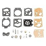 Ballylelly Kit de reparación de carburador K20-WAT Juego de Juntas de Herramienta de reconstrucción para Accesorios de Motocicleta Walbro Piezas de reparación Suministro de carburador de Combustible
