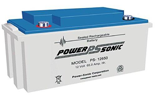 Batterie PowerSonic PS-6100F1 6V 12Ah Acide scell/é de Plomb Ce Produit est Un Article de Remplacement de la Marque AJC/®