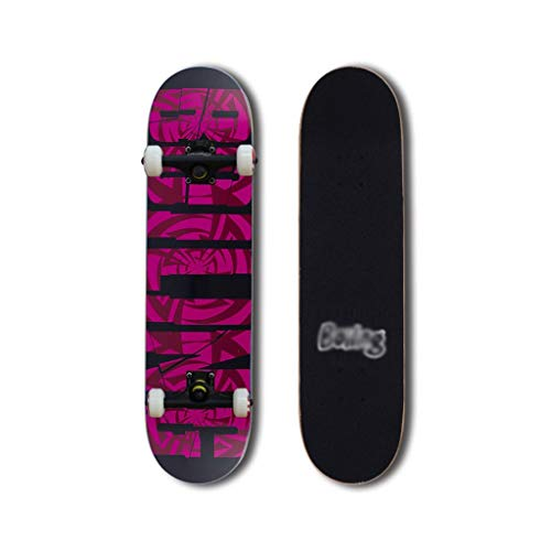 Purchase LINGLING-Skateboard Longboard Professional Scooter Boys and Girls Youth Adult Beginner Prof...