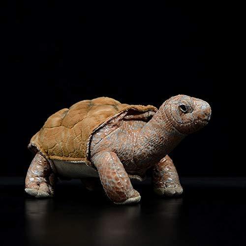 wqmdeshop Plüschtiere 14Cm Galapagos Riesenschildkröte Lebensechte Simulation Schildkrötenpuppe Niedliches Kuscheltier Plüschtier Kindergeschenke
