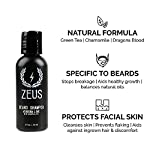 ZEUS Essential Travel Sized Beard Oil Set, Starter Kit, Cleans, Conditions, Moisturizing, Tames Hair, Aides Itchy Skin… 3