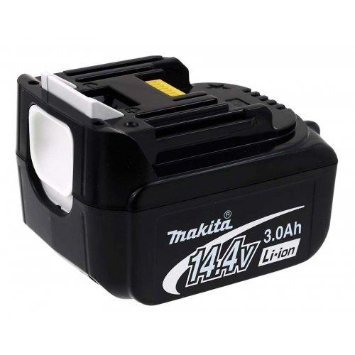 akku-net Premiumakku für Werkzeug Makita Typ BL1430 3000mAh Original, 14,4V, Li-Ion