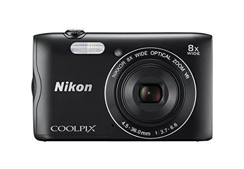Nikon Coolpix A300 20 MP Point & Shoot Digital Camera, Black