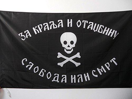 AZ FLAG Flagge JUGOSLAWISCHE Armee IM VATERLAND 90x60cm - KÖNIGREICH JUGOSLAWIEN Fahne 60 x 90 cm Scheide für Mast - flaggen Top Qualität