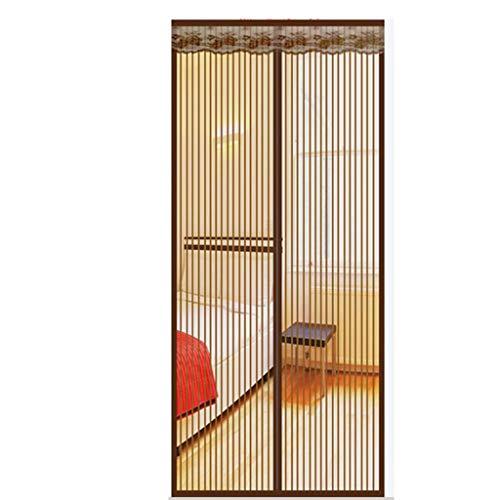 Magnetische stickers anti-muggen gordijnen slaapkamer magische scherm deur schermen vliegen mute versleuteling ademend transparant raster 210x95cm