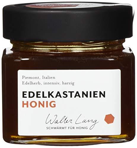 Walter Lang schwärmt für Honig Bio Edelkastanien-Honig, Piemont, Italien, 275 ml