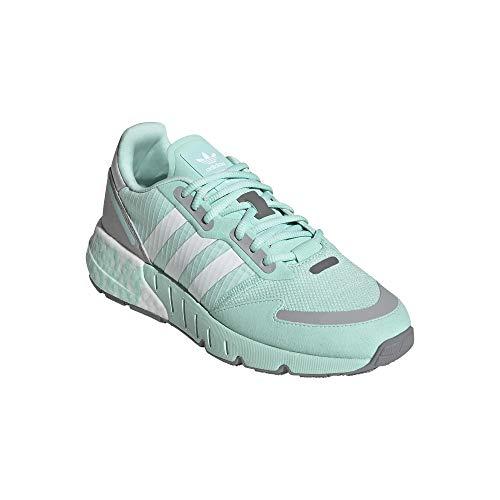 adidas ZX 1K Boost - Zapatillas deportivas para mujer, color Verde, talla 41 1/3 EU