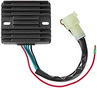 Templehorse Voltage Regulator Fits Mercury 75-90 HP 4 Stroke Marine Yamaha 80-100HP Outboard 2000 2001 2002 2003 2004 2005 804278A12 804278T11 67F-81960-12-00 67F-81960-11-00 67F-81960-10-00