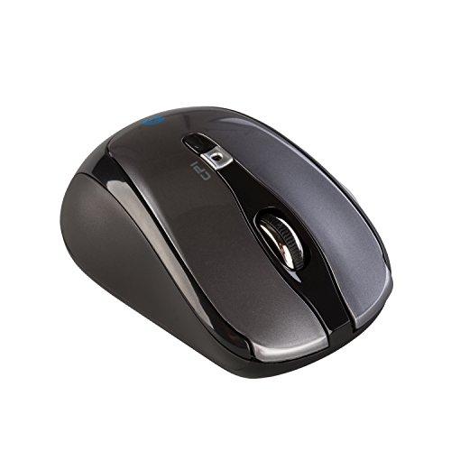 i-tec Bluetooth Wireless Mouse Travel 6-Tastenmaus Wählbare Auflösung des Sensors 1000/1600 DPI 2x AAA Batterien im Lieferumfang ON/OFF-Taste ideal für Notebook Ultrabook Tablet PC, Windows Mac Linux Android Mäuse