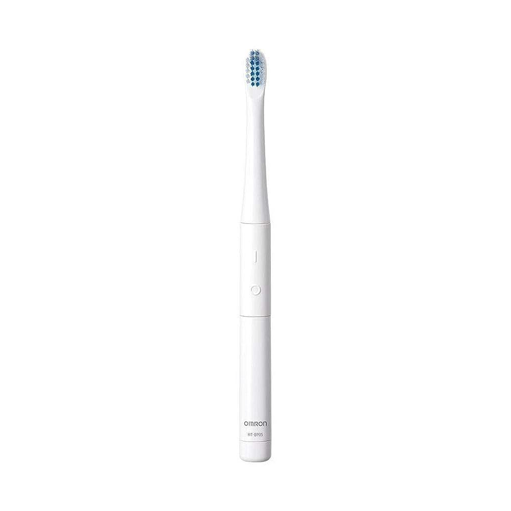 社会科砲兵ヘッジOmron オムロン 音波式電動歯ブラシ HT-B905-W 電動歯ブラシ