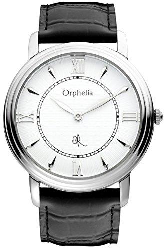 Orphelia Herren-Armbanduhr XL Analog Leder 155-6701-14