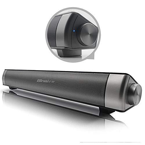 XiaoMall Binai G08 2000 mAh TV Jack Cancelación de ruido Tarjeta TF inalámbrico Bluetooth altavoz con micrófono