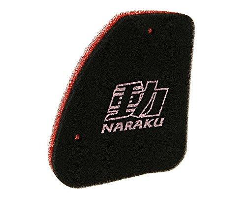 Naraku Double Couche Filtre à air pour Hercules Gipsy 50 cc, Limbo, Reggae, Splinter, Squab