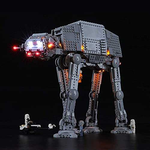 BRIKSMAX Led Lighting Kit für Lego Star Wars at-at Walker, Led Light Set Add-on für Lego Set 75288 (Nicht Beinhaltet Lego Model)