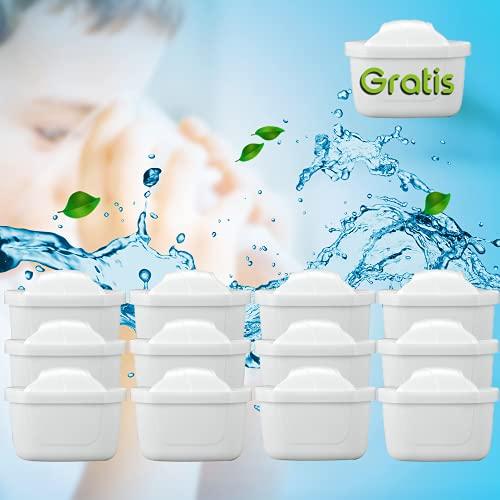 WASSERFILTER-KARTUSCHEN +1 Filter Gratis || Wasserfilter Brita Maxtra Marella KOMPATIBEL || Qualität von AquaClean® (12+1Gratis)