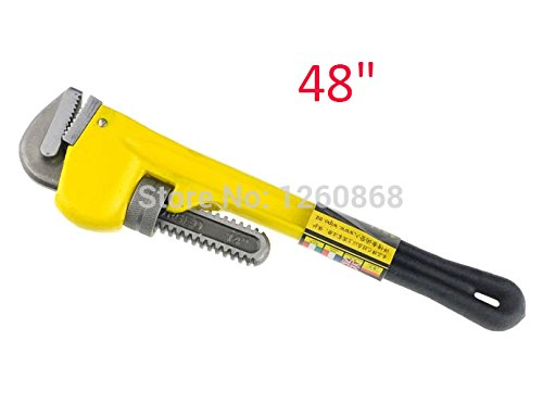 121,9 cm (121,9 cm) Nouveauté Heavy rond Clé serre-tube Pince Heavy Duty Eau Clé serre-tube Pince