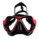 TQBT Tauchmaske Schnorchelmaske Brille Peeling Großer Rahmen Wasserdicht und beschlagfrei...