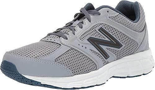 New Balance Men's 460 V2 Running Shoe, Steel/North Sea, 10.5 XW US