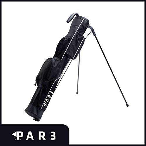 "Par3 Golf [New] Lightweight Sunday Golf Bag with Stand – Easy to Carry & Durable Pitch n Putt Golf Bag – Golf Stand Bag for The Driving Range, Par 3 & Executive Courses – 31.5"" Tall"
