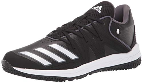 adidas Men's Speed Turf Synthetic Baseball Shoe, core Black/FTWR White/Grey Five, 11.5 M US