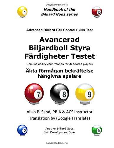 Avancerad Biljardboll Styra Färdigheter Testet: Äkta förmågan bekräftelse hängivna spelare