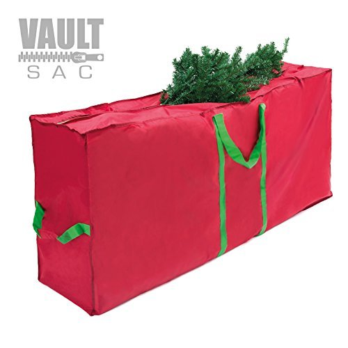 VAULTSAC Christmas Tree Storage Bag Storage Bins | Storage Containers | Heavy Duty 420D Polyester Material | Decorations Storage | Great Underbed Storage Bags | Handbag and Backpack Storage Gift