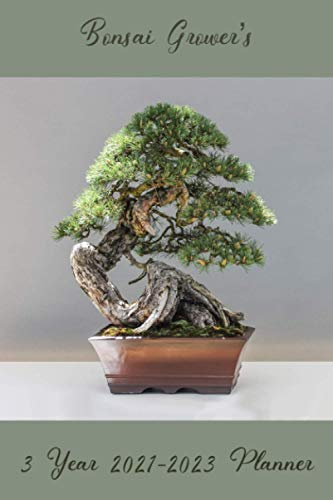 Bonsai Grower's 3 Year 2021-2023 Planner: Compact and Convenient 3 Year 2021-2023 Planner for Bonsai Growers