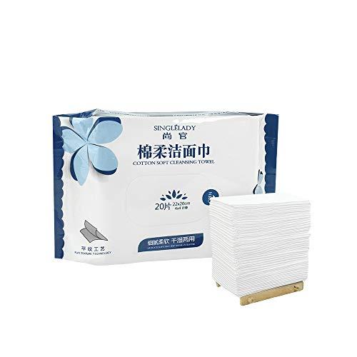 80 Stks Zacht Puur Katoen Handdoek Katoenen Pads Gezichtsreiniging Tissues voor het verwijderen van Gezicht Oogmake-up en Nagellak