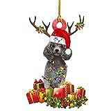 Betos 6 adornos de Navidad para perro, cachorro, perro, decoración personalizada, árbol de Navidad, árbol de Navidad, regalo de Navidad para perro, cachorro, perrito, labrador