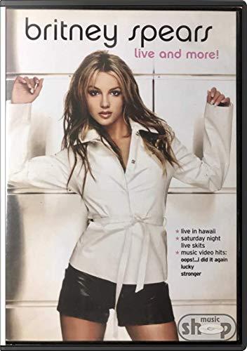 Britney Spears Live And More - novo lacrado original