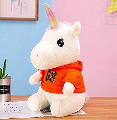 SongJX-Love Plüschtier super weiche Puppe männlich und weibliche Puppe Geburtstag Valentinstag Halloween Pullover Unicorn 40cm Gzzxw