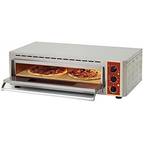 Horno de pizza y Bruschetta para cámara infrarroja – 40/60 pizzas/hora –