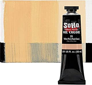SoHo Urban Artist Oil Color Paint and High Pigmented Professional Oil Paint - 50 ml Tube - Flesh