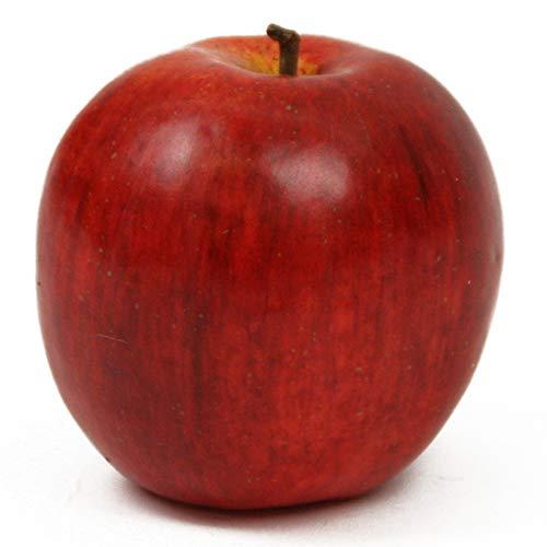Floratexx Künstlicher Apfel ca 6 cm. Äpfel, Obst, Dekoobst, Apfel, Kunstobst. ROT. 20724 20