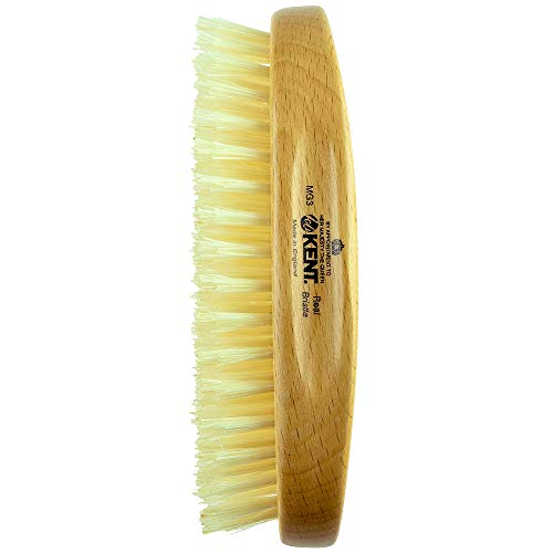 Kent - Gentleman's Hairbrush Model No. MG3, Oval 5x2 3/4, Bristles 1/2 L by Kent