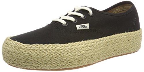 Vans Damen Authentic Platform ESP Sneaker, Schwarz (Black Blk), 38.5 EU