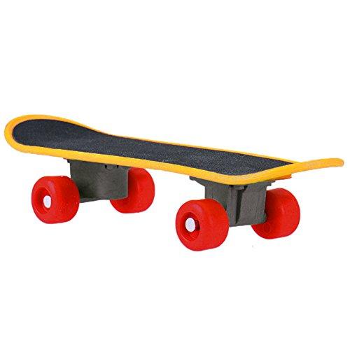 Hinmay Schaukel für Vogel Papagei Intelligenz-Spielzeug Mini-Skateboard, für Papageien, Wellensittiche, Sittiche, Nymphensittiche, Sitzstange, stehend, Sport-Zubehör