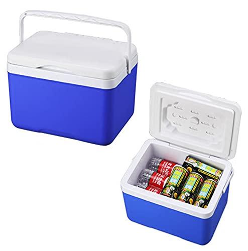 Caja de refrigeración portátil de la caja de refrigeración al aire libre 10L Caja del enfriador de refrigeración para el picnic al aire libre Caja de frescura del pe