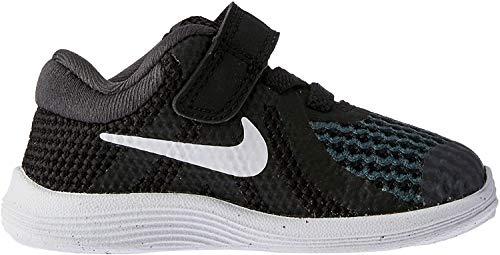 Nike Unisex-Kinder Revolution 4 (TDV) Laufschuhe, Schwarz (Black/White-Anthracite 006), 23.5 EU