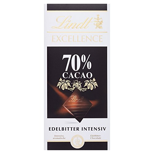 Lindt Excellence 70% Edelbitter Chocolade, 100g
