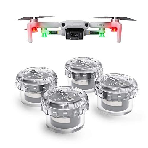 INSYOO Strobe Light Quick Flash Drone Highlight Warning Indicator Night Light Compatible with DJI Mavic Mini/Mini 2/Mini SE/Air2/Air2S/Mavic 2/FPV/Autel Robotics Evo 2/FIMI X8SE