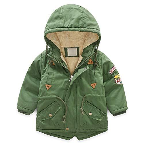 G-Kids donsjas voor kinderen, voor jongens, winterjas, gewatteerd, verdikte lange herfst winterjas, parka, trenchcoat met capuchon