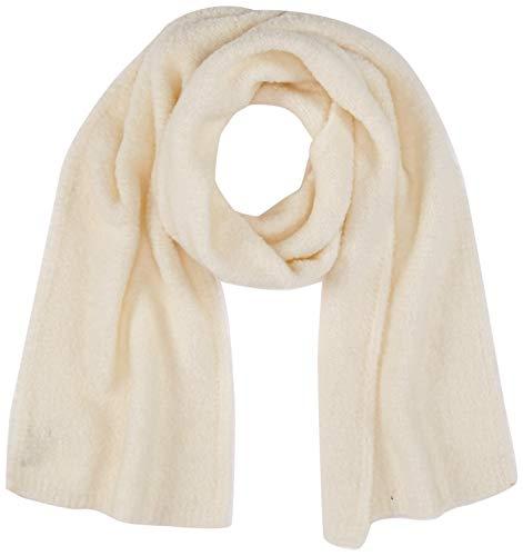 United Colors of Benetton Damen Sciarpa Boucle Schal, Weiß (Bianco 000), One Size (Herstellergröße: OS)