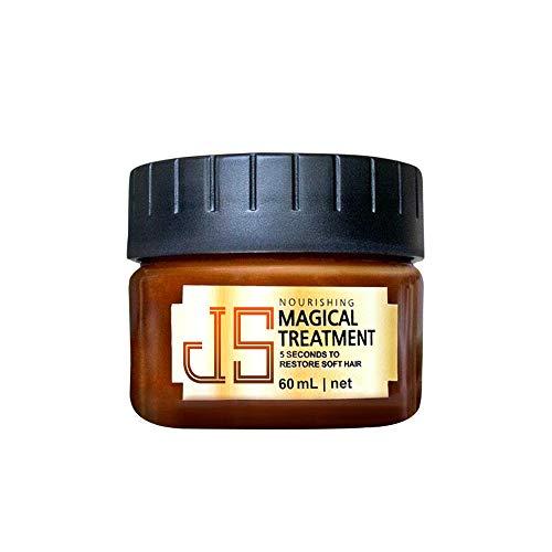 Yue668 - Champú acondicionador capilar para el cuidado de cabello, raíces de cabello moleculares avanzadas, 60 ml, suave para restaurar el cabello brillante, recuperar la elasticidad del cabello
