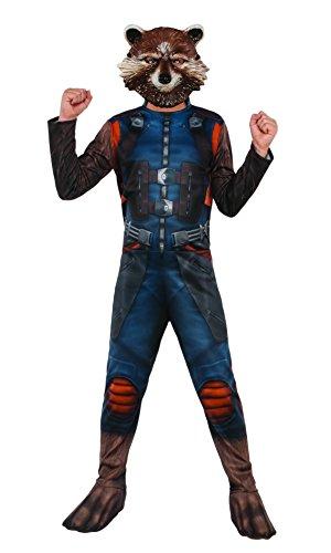 Marvel–i-630777l–Kostüm Klassische Rocket mit couvre-Bottes/Maske–Größe L
