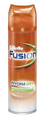 Gillette Fusion Piel Sensible Gel De Afeitado Para Hombre - 200 ml