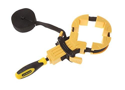 Preisvergleich Produktbild Stanley Bailey Bandzwinge,  (4.5m Bandlänge,  ergonomischer Griff aus Bi-Material,  Metall-Kunststoff-Konstruktion) 0-83-100