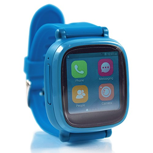 Omate S3 Blue Edition, 3G-Smartwatch Phone, WLAN, Bluetooth, GPS, Android 4.4.2, Kabellose Ladestation - High-End-Elektronik!