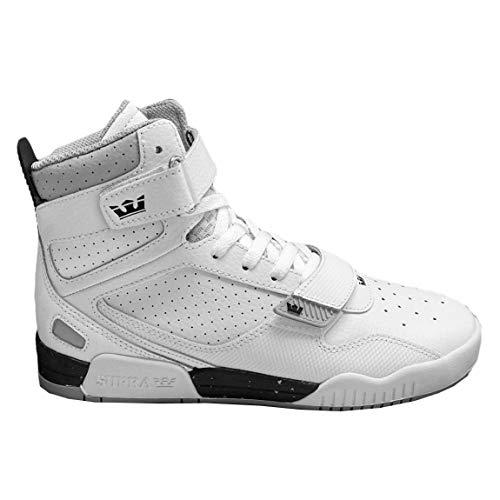 Supra Herren Breaker Hohe Sneaker, Weiß White BSR 168, 44 EU